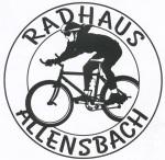 Logo vom Radhaus in Allensbach , Logo zeigt einen Radfahrer