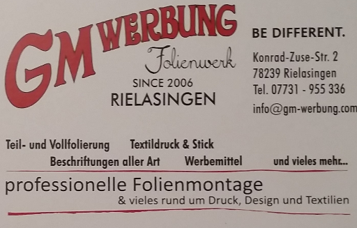Logo der Kaffee Rösterei Allensbach, das Logo hat die Form einer Kaffeebohne