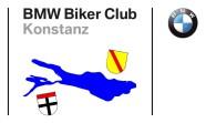 Logo des Vereins, zeigt den Bodensee schematisch, die Wappen von Konstanz und Baden und das BMW-Logo